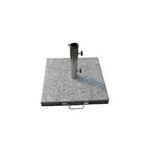 Base sombrilla granito 20kg/400x400mm